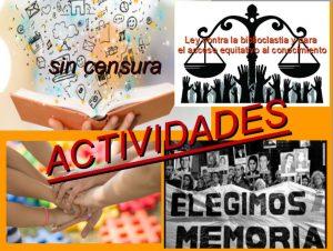 Actividades Basta biblioclastia